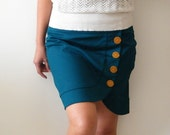 Teal skirt for the unique girl