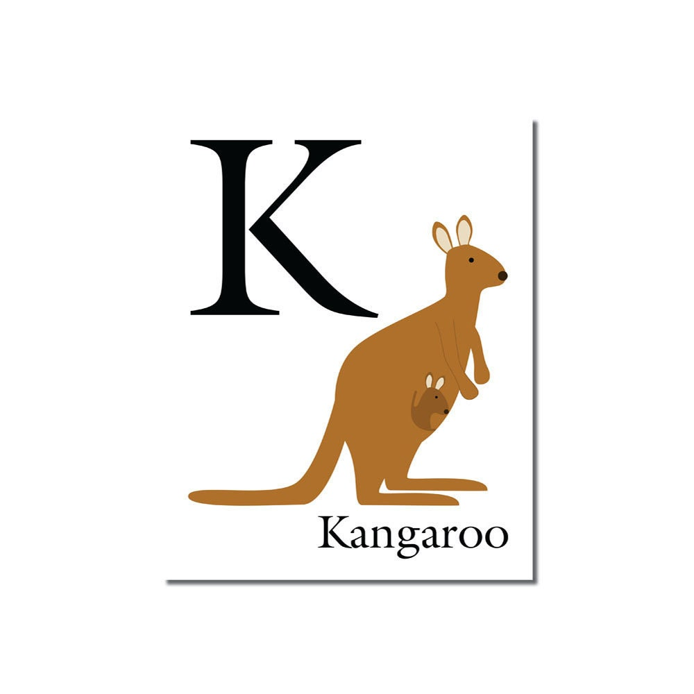 Y So Kangaroo Song K is for Kangaroo... T...