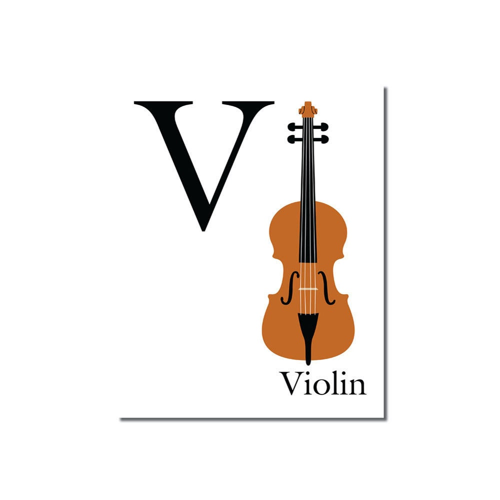 V Is For Violin S A L E V is for Violi...