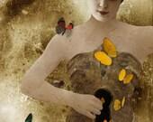 So long as you wish it - Mini Fine Art Canvas Print by Liz Huston