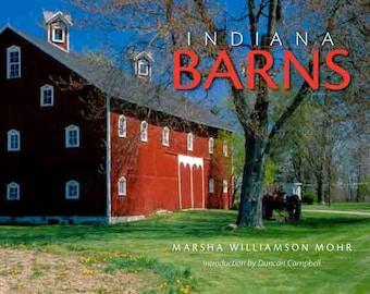 Award Winning Indiana Barns Coffee Table Book. Paperback.