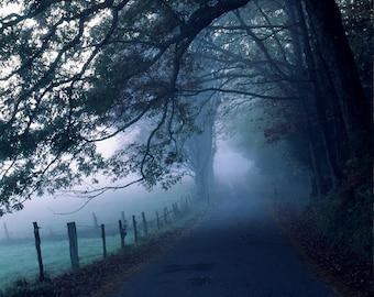 Fine Art Photo of Cades Cove, Great Smoky Mountain National Park, Tennessee (ID#SMAU0060)