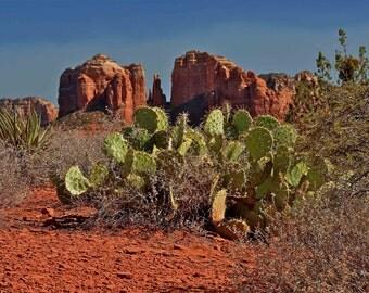 Fine Art Print of Cathedral Rock, Sedona, Arizona