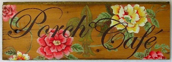 Custom sign personlized cafe restaurant farmer market store familysign on  reclaimed rustic  wood