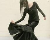 Spiral Spiderweb Skirt