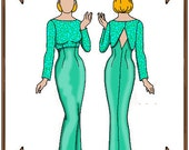 PDF - Tyler Wentworth Doll Clothes Pattern - Evening Gown, Jacket - No. PDF-60TW