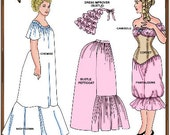 Tyler Wentworth Doll Clothes Pattern - Camisole, Slip, Nightgown -  No. 101TW