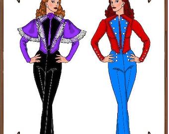 PDF - Ellowyne Wilde Doll Clothes Pattern - Blouse, Jacket - No. PDF-111