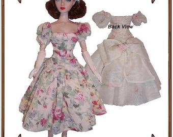 PDF - Gene Marshall Doll Clothes Pattern - Dress - No. PDF-158