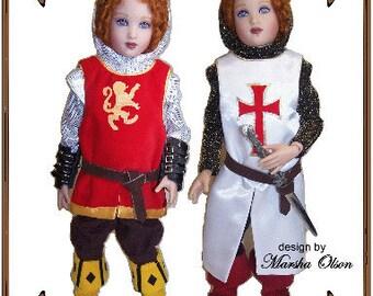 Betsy McCall Doll Clothes Pattern - Shirt, Hood, Pants, Long Vest - No. 142
