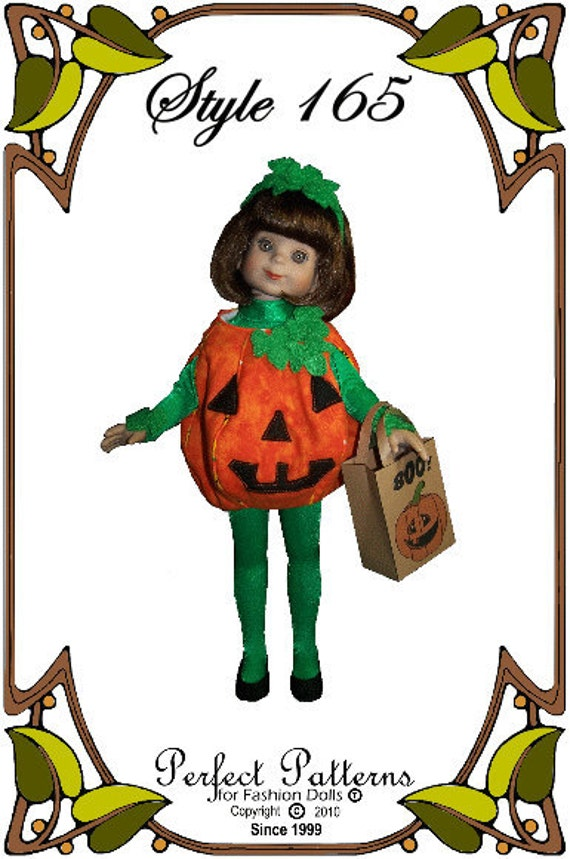 Betsy McCall Doll Clothes Pattern - Halloween Costume - No. 165