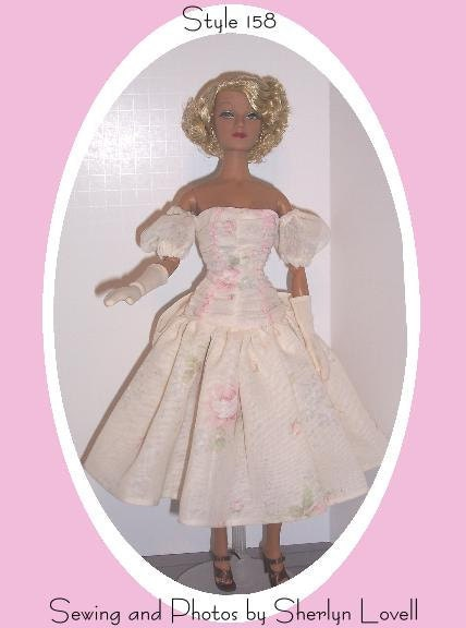 Gene Marshall Doll Clothes Pattern Dress No. by ...