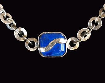Lapis and Silver spangle