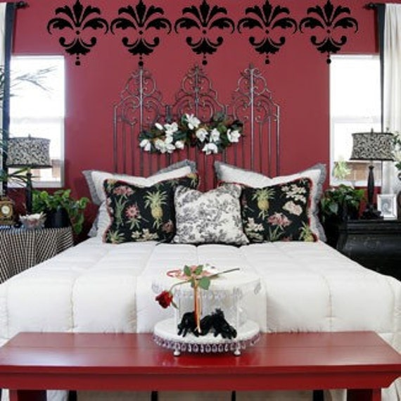 Items Similar To 6 Damask Designs Bedroom Office Modern