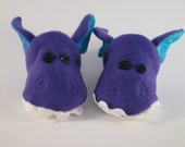 purple dragons slippers