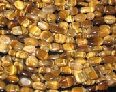 nice quality tiger eyes  smooth oval beads 5 strand size 6x8 mm to 9x12mm length 14 inches super unbealivable price