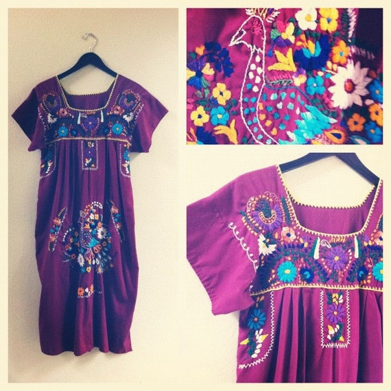 embroidered ethnic dress