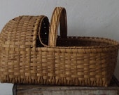 Little Amish or Newborn Baby Basket - Beautifully Made
