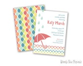 Citrus Sprinkle - Personalized Printable Invitations
