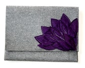Mod Clutch-Purple Petals