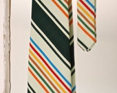 1960s Wide Striped Tie