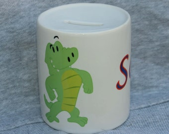 Personalized Ceramic Bank