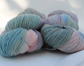 Lucina Fingering Weight Yarn in Superwash Merino with Sparkles, in Translucence (D120316-002)