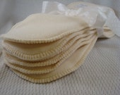 Super Absorbent Organic Bamboo Fleece with Zorb Diaper Doublers - Cloth Diapering Boost - 2357