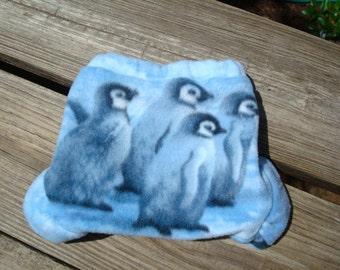 Penguin Party Baby Boy's Fleece Diaper Cover - 691