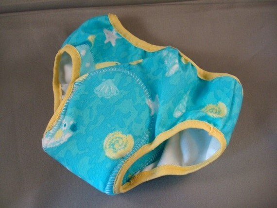 Cotton Toddler Boys Training Underwear with Waterproof Pad -  Tortuga 1945