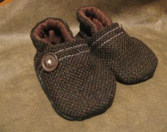 Baby Tweed shoes