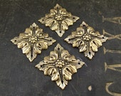 RESERVED: 10 VIntage Brass Ornaments, Furniture Plates, Hardware