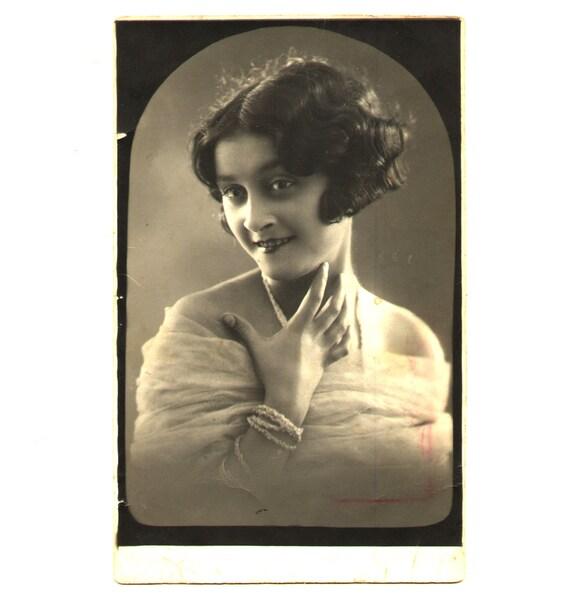 Cabinet Photograph - Antique Portrait - 1930s.