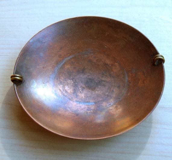 Rare Antique Copper Plate.