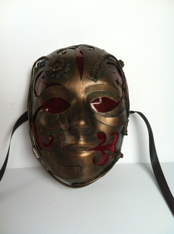 steampunk   mask,