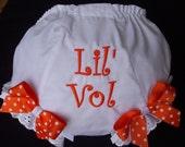 Tennessee Vols  Diaper Cover