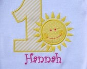 Girls' Birthday Sunshine T Shirt or Bodysuit
