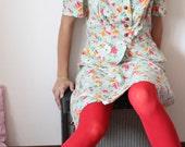 Floral Dance - 70s dress