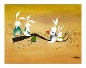 Bunny Teeter-Totter ( Volcano Rabbit )