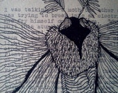 Lesson of the Moth - Original Drawing