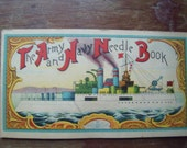 Vintage Army and Navy Needle Book