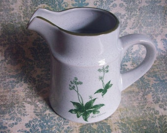 Mountain Flowers Creamer  by NORITAKE Primastone JAPAN MIJ