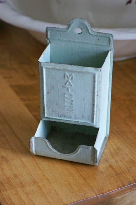 Vintage Matchbox Holder By Sewvintage8 On Etsy