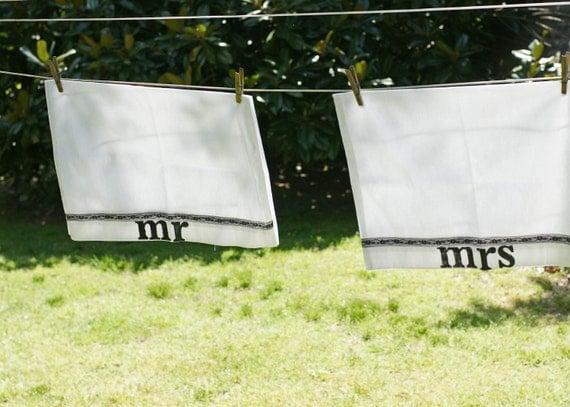Mr & Mrs Pillowcase set