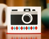 Say Cheese - Retro Film Camera Card - 100% Recycled Paper