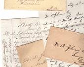 1870's Letters Correspondence Lawyer Surveyor New Hampshire