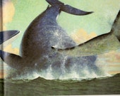 Whales Book Vintage story about Whales Ocean Singing Whales