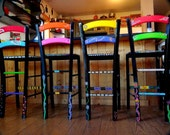 Hand painted funky chairs to order
