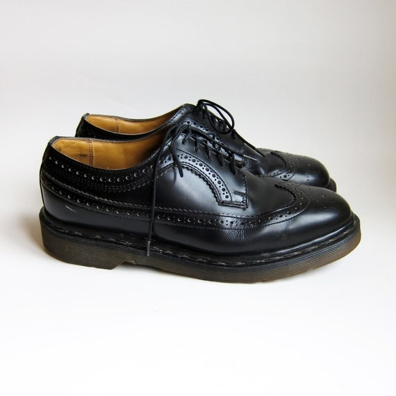 Vintage 1990s Shoes Dr Martens Oxford Wingtips By