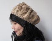 Very Soft Beret - Baby Alpaca 100 percent